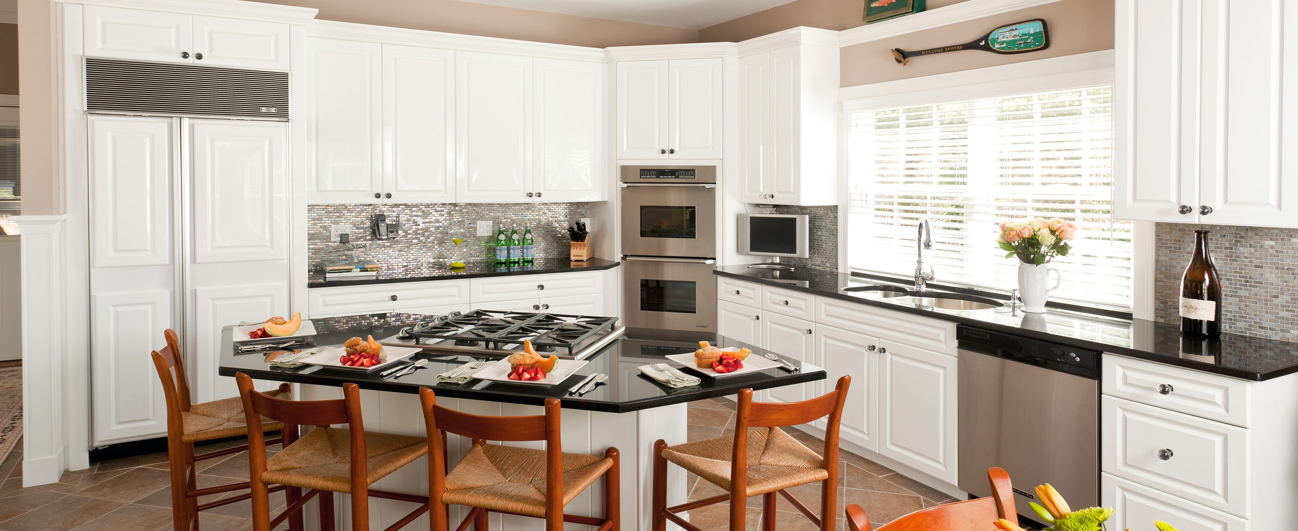 High end kitchen remodel in Osterville